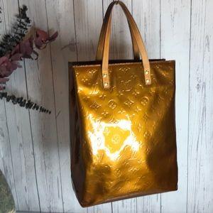 Authentic Louis Vuitton Reade  Bronze monogram